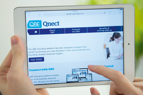 Launch of QBE Qnect